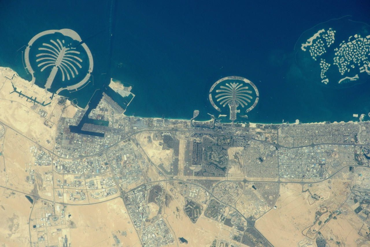 Острова пальм. Дубай, ОАЭ