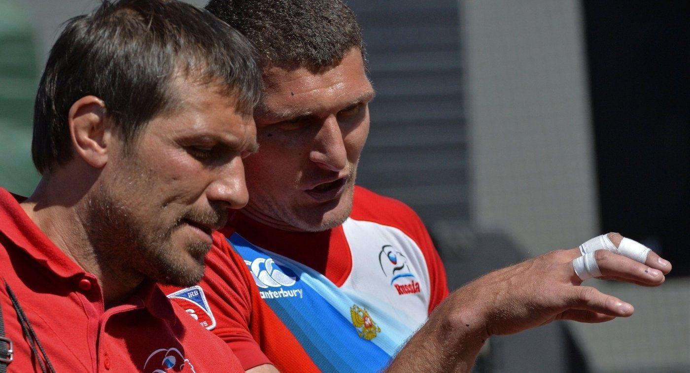 Тренер сборной по регби-7 Сорокин